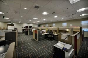 Cree Grossraumbüro mit LED