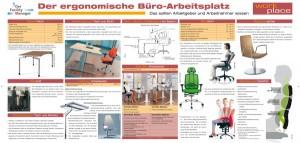 Gratis Download Poster Der Ergonomische Buro Arbeitsplatz Der