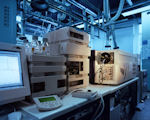 Labor vom SGS-Institut Fresenius am Standort Taunusstein. Bild: SGS-Fresenius