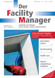 Der Facility Manager Cover November 2014