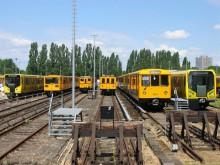 Verschiedene Fahrzeugtypen der Berliner U-BahnBild: Azaures/Wikipedia