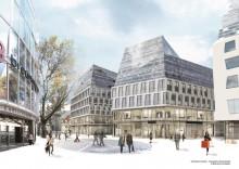 Das Dorotheen Quartier im Zentrum Stuttgarts soll 2016 eröffnen; Bild: Behnisch Architekten