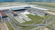 Blick in die Airport City vom Juli 2013; Günter Wicker/Flughafen Berlin Brandenburg GmbH