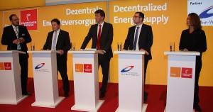 Podiumsdiskussion KWK und KWKK – Potenziale und Geschäftsmodelle auf der Hannover Messe auf dem Gemeinschaftsstand Dezentrale Energieversorgung