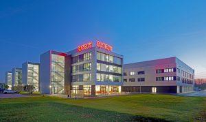 Der neue Firmensitz von Aixtron. Bild: Aixtron