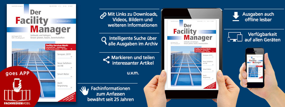 Der Facility Manager goes App