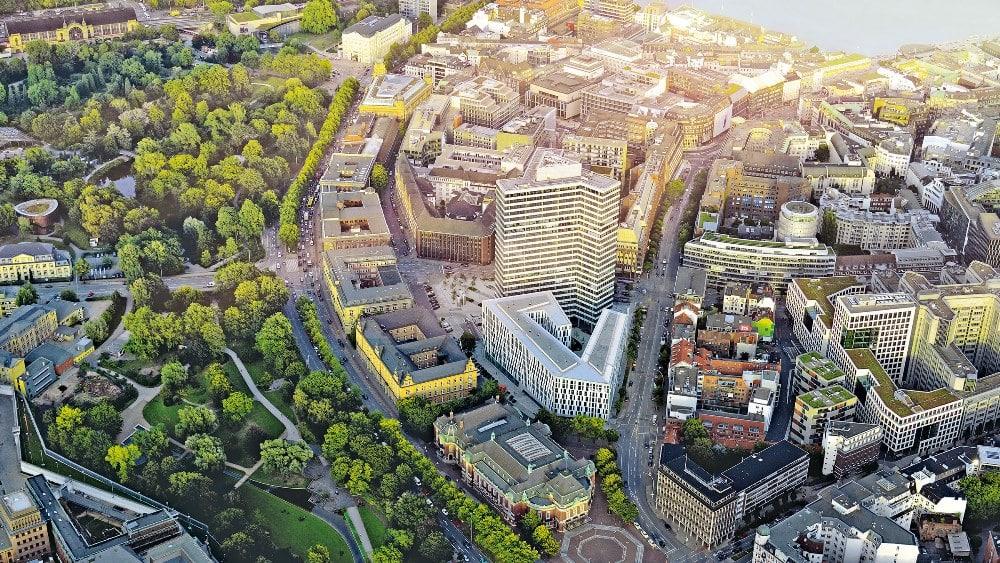 Das mit 4,3 bewertete Emporio in Hamburg.