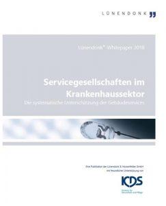 Cover des Luenendonk Whitepapers zu Servicegesellschaften im Gesundheitswesen