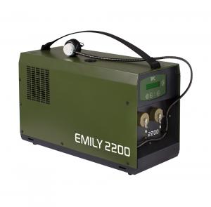 Die Emily 2200 Brennstoffzelle von SFC Energy. Bild: SFC Energy.