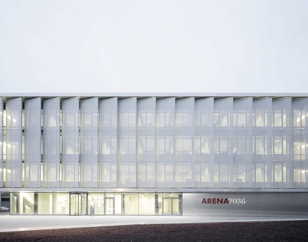 Der Forschungscampus ARENA 2036 an der Universität Stuttgart. Bild: B. González