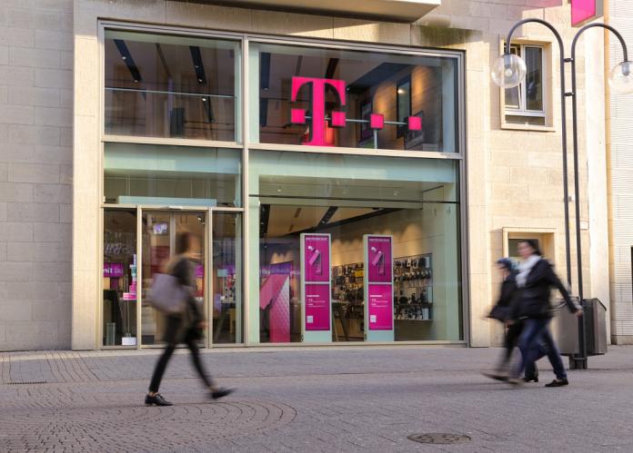 Ein Telekom Shop in Köln. Bild: Deutsche Telekom