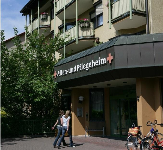 Das Alten- und Pflegeheim Bad Neustadt. Bild: BRK Alten- und Pflegeheim Bad Neustadt