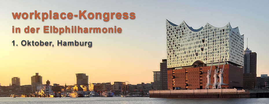 workplace-Kongress 2019 in der Elbphilharmonie Hamburg