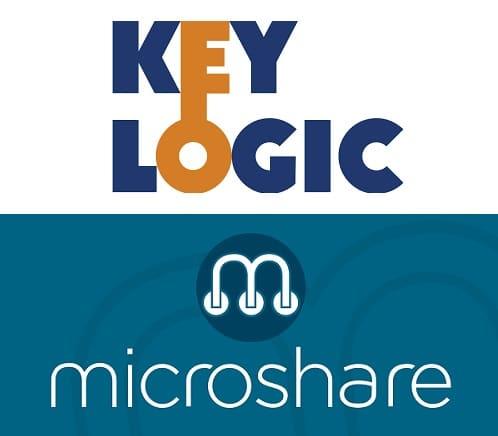 Keylogic Microshare Logos
