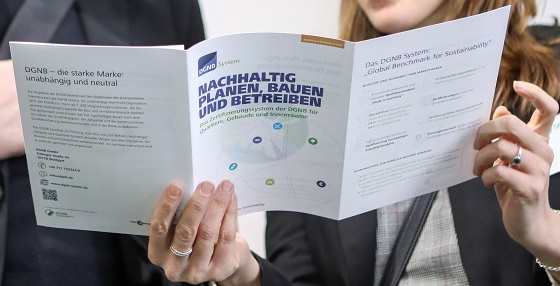 DGNB-Systeme zu nachhaltigem Planen und Bauen. Bild: DGNB