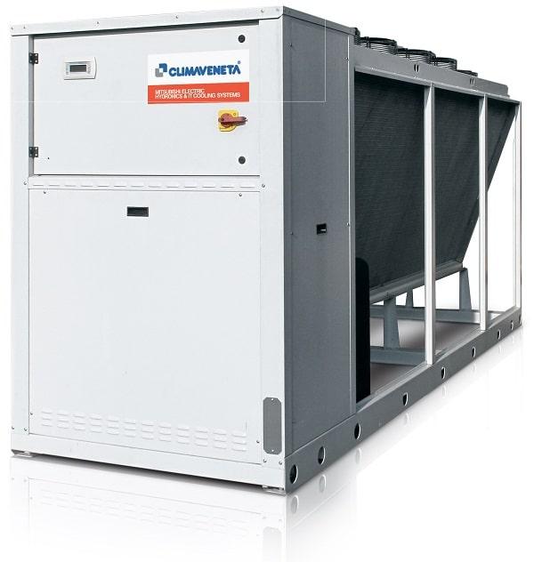 Mitsubishi Electric rüstet luftgekühlte, außen aufgestellte Geräte im Leistungsbereich zwischen 40 und 850 kW mit Kältemittel R410A auf R454B um.