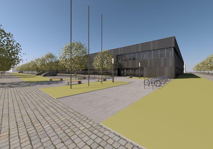 Rendering der Future Factory. Bild: Technoform