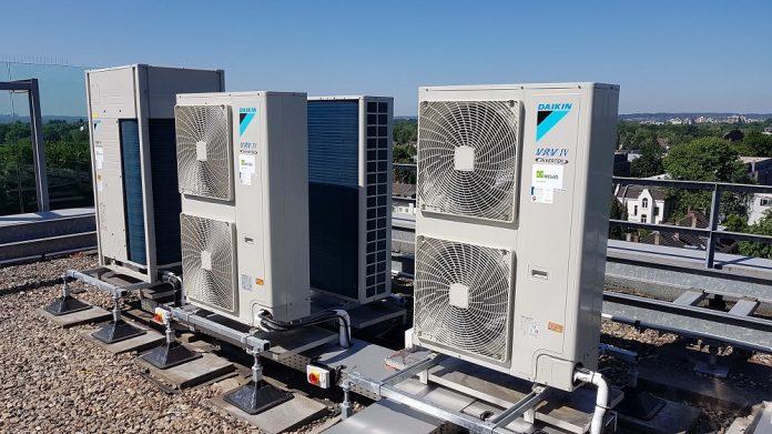 Wisag installiert neue Klimageräte in der GVV-Unternehmenszentrale. Bild: Wisag Industrie Service Holding