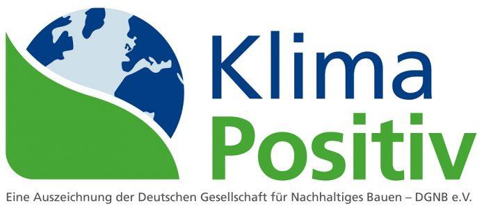 Logo DGNB Klimapositiv