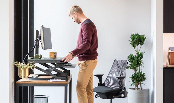 ergotron Steh-Sitz-Schreibtisch-Wandler