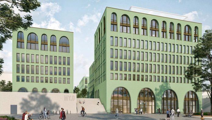 Rendering des MY.O München. Bild: CA Immo Deutschland GmbH