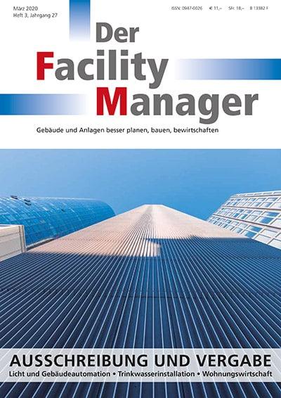 Fachmagazin Der Facility Manager 3/2020
