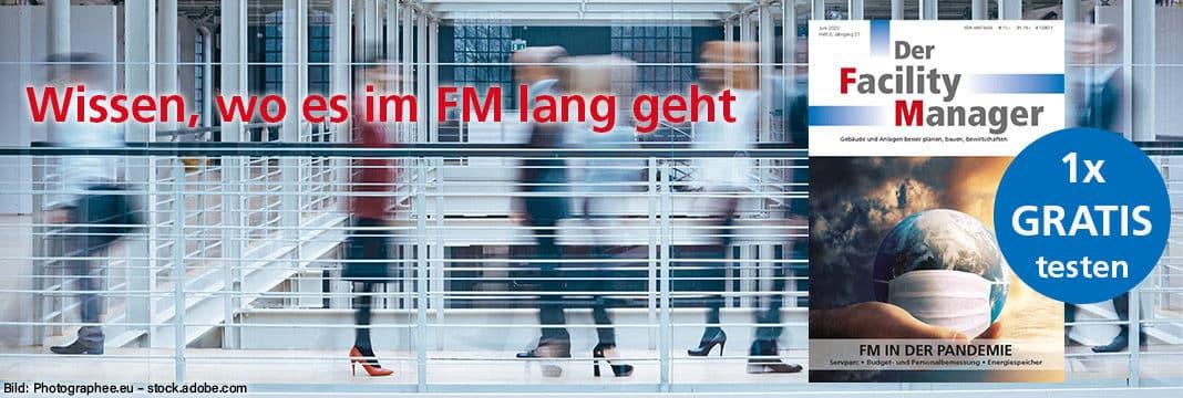 1 Ausgabe Der Facility Manager gratis