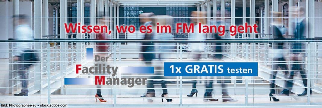 Der Facility Manager 1x gratis testen