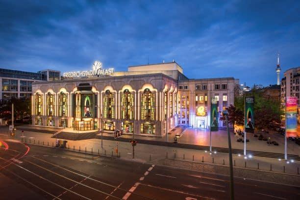 Der Friedrichstadt-Palast Berlin. Bild: B. Brundert