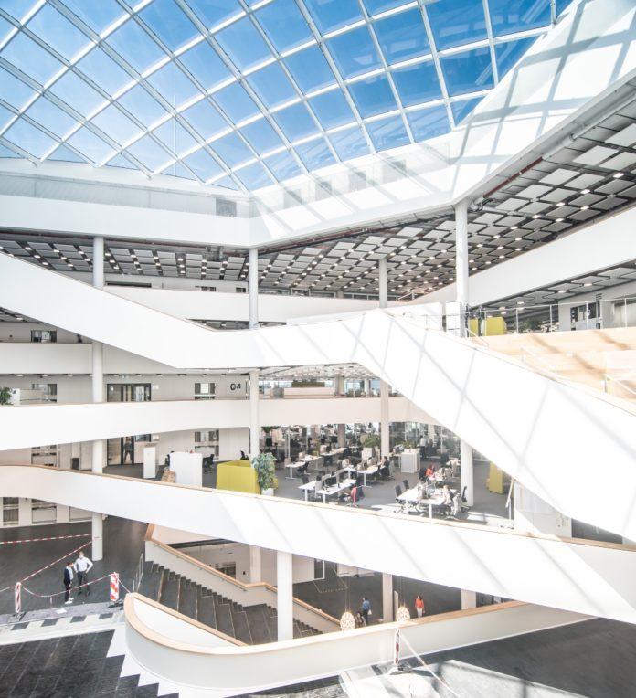 BMW hat im September das FIZ Nord eröffnet. Bild: BMW Group