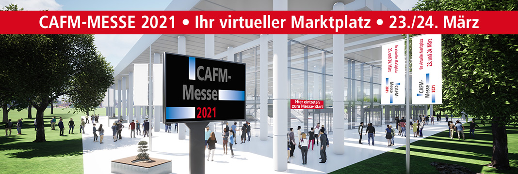 CAFM-MESSE 2020 • Ihr virtueller Marktplatz • 29./30. September 2020