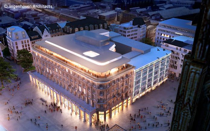 GA-tec stattet das Dom Carré Köln mit neuer TGA aus. Bild: Ingenhoven Architects
