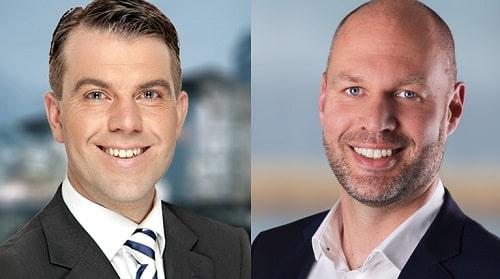 Dr. Gert W. Riegel (links) und Michael Engel. Bild: Apleona