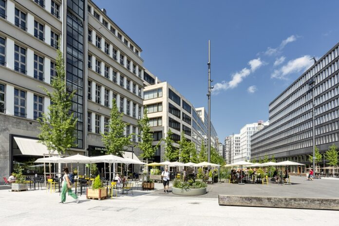 Die Europaallee in Zürich. Bild: SBB AG