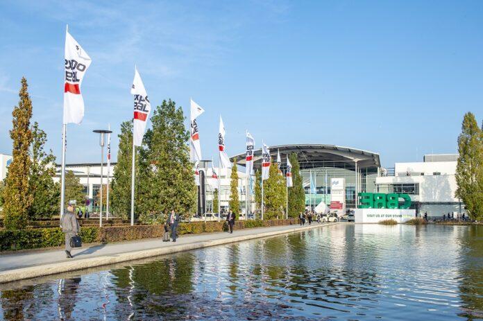Die Expo Real 2021 findet dieses Jahr voraussichtlich hybrid statt. Bild: Messe München