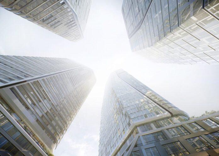 Die Fertigstellung des Four Frankfurt ist für 2024 geplant. Bild: Groß & Partner