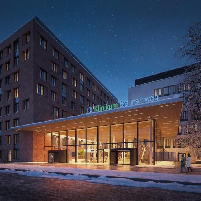 In einem Neubau des Klinikum Braunschweig installiert Caverion die lüftungstechnischen Anlagen. Bild: bloomimages