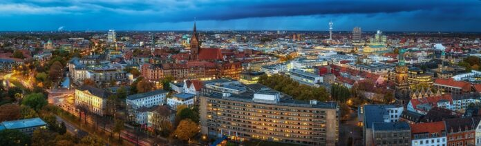 In Hannover entsteht ein nachhaltiger Unternehmerpark für verschiedene Flächennutzungen. Bild: Leinemeister/stock.adobe.de