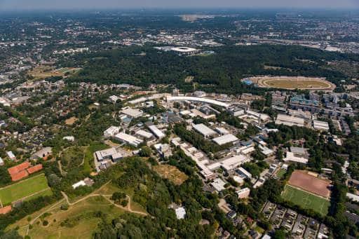 Das DESY-Forschungszentrum in Hamburg. Bild: DESY
