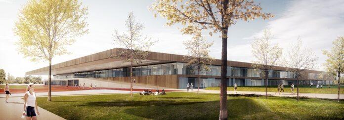 Spie übernimmt das technische FM auf dem TUM Campus München. Bild: Dietrich/Untertrifaller Architekten